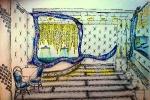 Эскиз к дизайну ресторана 3
