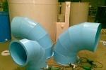 Элементы воздуховода системы вентиляции