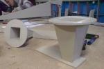 Элемент вентиляции: бортовой отсос гальванической ванны